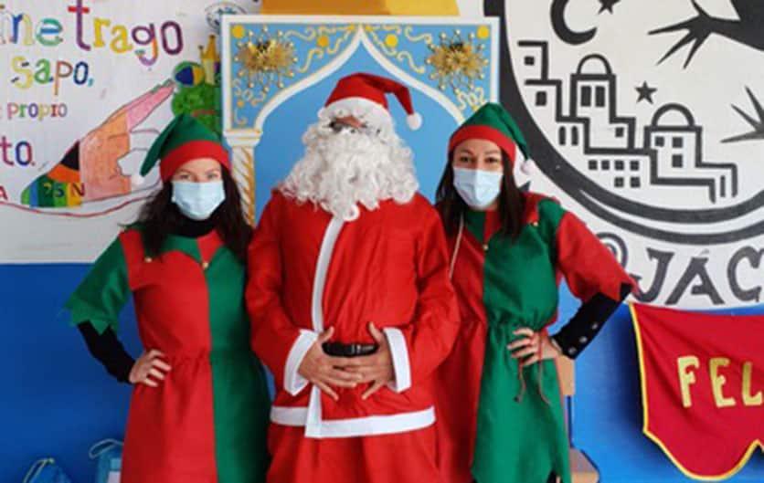 Santa Claus Brings Christmas Gifts ToMojácar's Schoolchildren