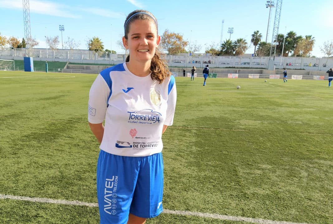 Samantha, scorer of Torrevieja's second goal.