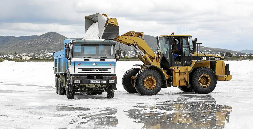 Torrevieja salt takes on Storm Filomena