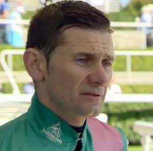 Jockey Rob Havlin rides Perfect Focus (1.10) and Bint Al Anood (1.45).