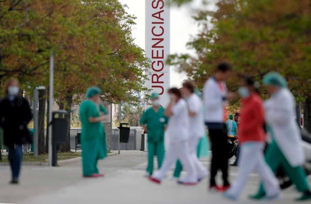 Over 3,500 medical staff currently sick or in quarantine
