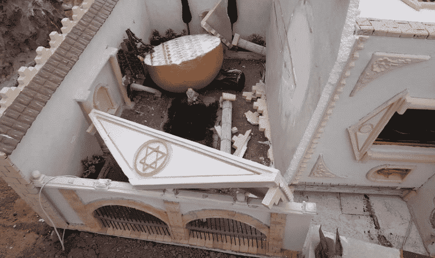 Vandals destroy the Almoradí nativity scene during its dismantling