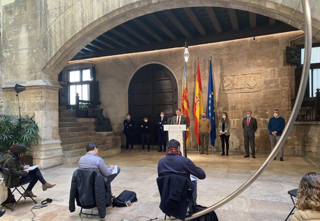 Ximo Puig announces a 340 million euro rescue plan