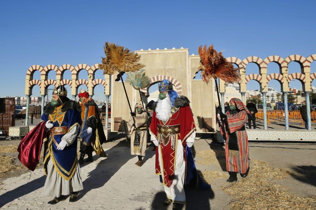 Thre Kings arrive in Torrevieja