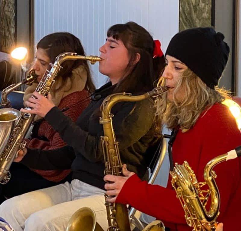 Mojácar hosts debut of the Valparaiso big band