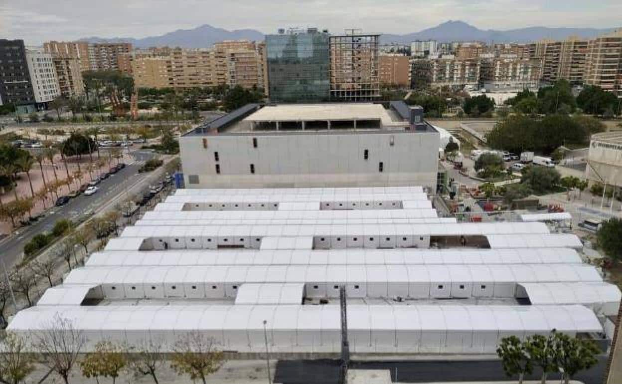 If it becomes necessary, field hospitals like this one in Alicante will be used