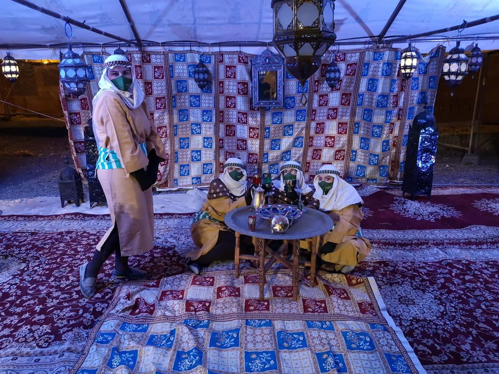 Camp of 3 Kings in Torrevieja has more than 5,000 visitors