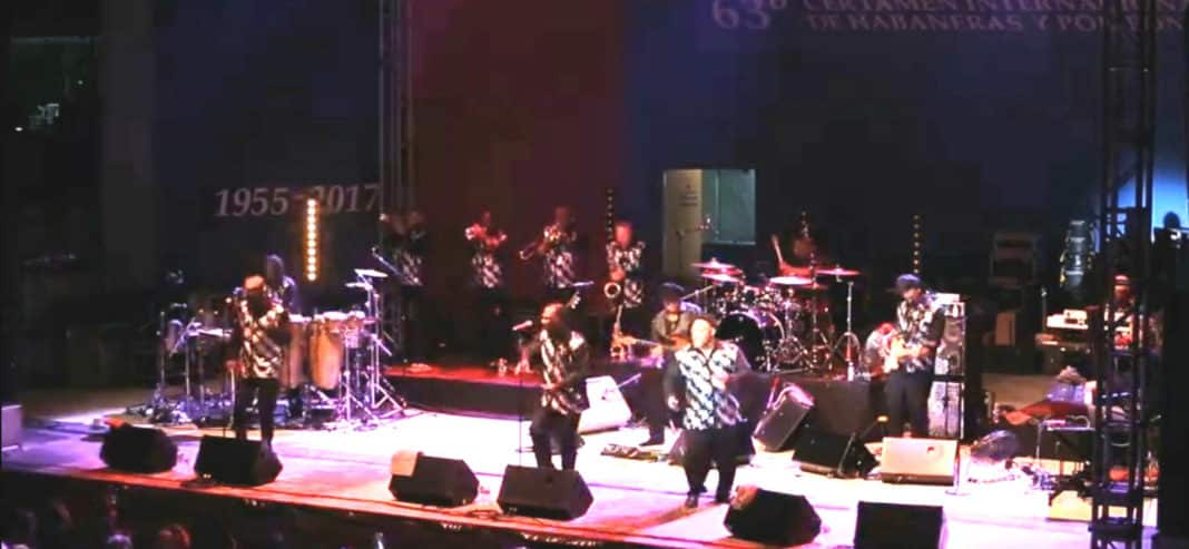 Earth, Wind and Fire in Torrevieja.
