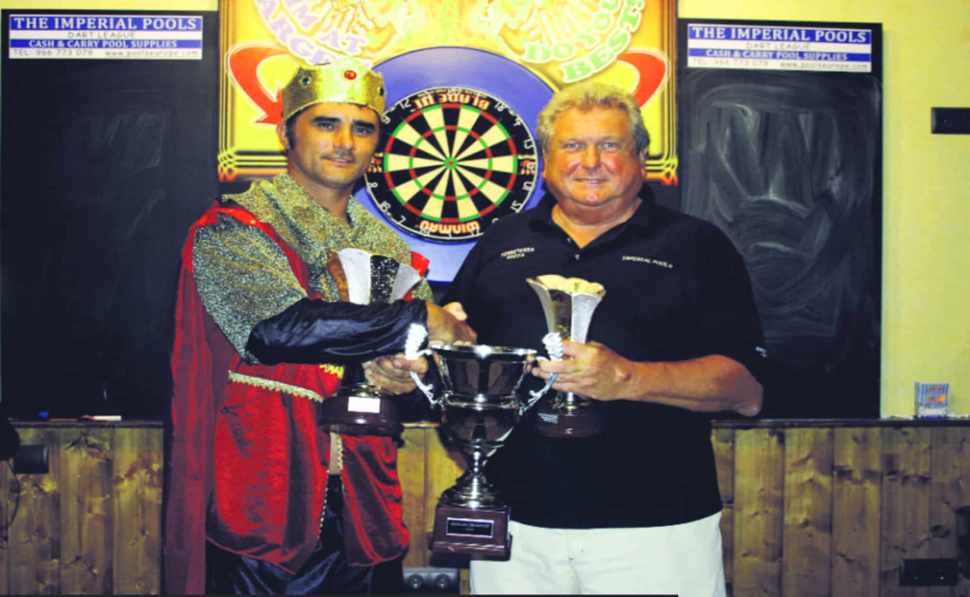 Singles finalists Farmer and Durrant