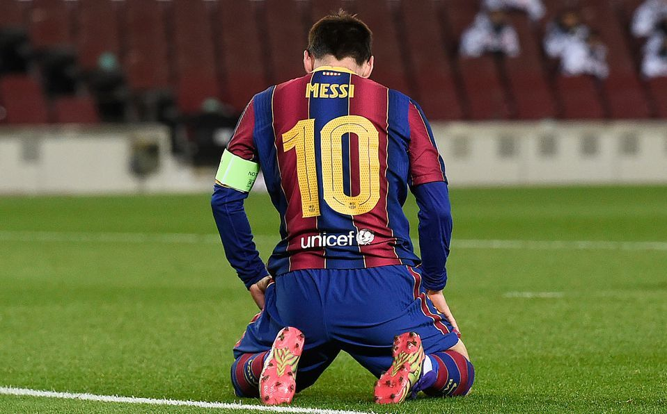 Messi's contract at Barca reportedly worth €555m - £492m - over four seasons