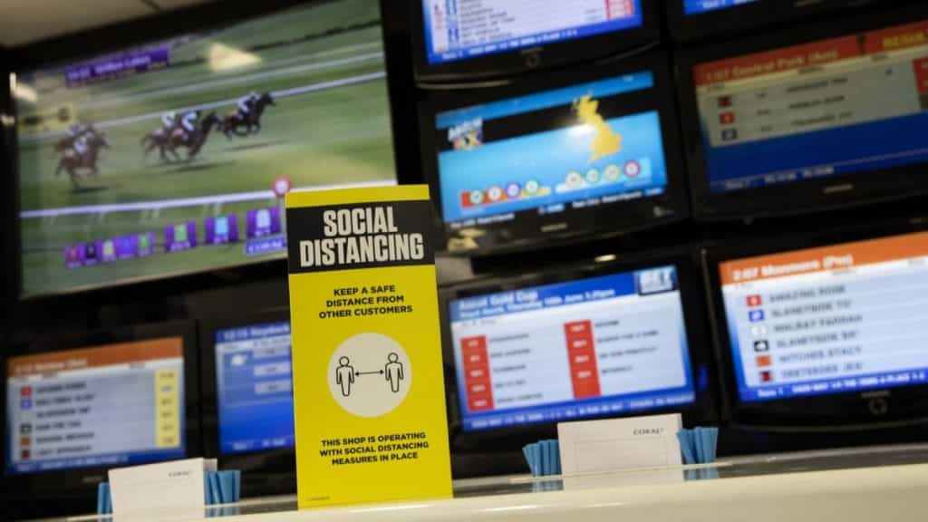 Betting shops will remain closed during the four days Cheltenham Festival (March 16-19) and The Randox Aintree Grand National (April 10).