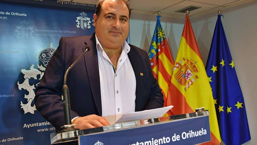 Orihuela councillor investigated for workplace harassment.