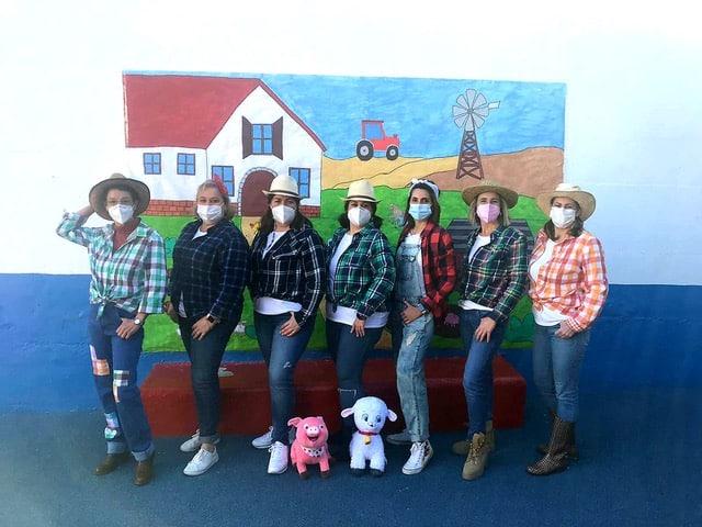Mojácar's nursery holds a mini Carnival Party