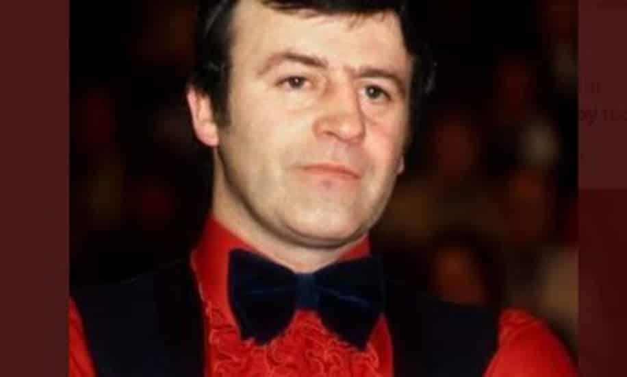 Doug Mountjoy former UK Snooker Champion dies aged 78
