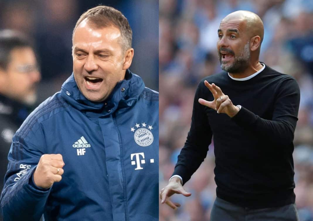 Guardiola teases Flick in seventh title 'battle of sextuples'