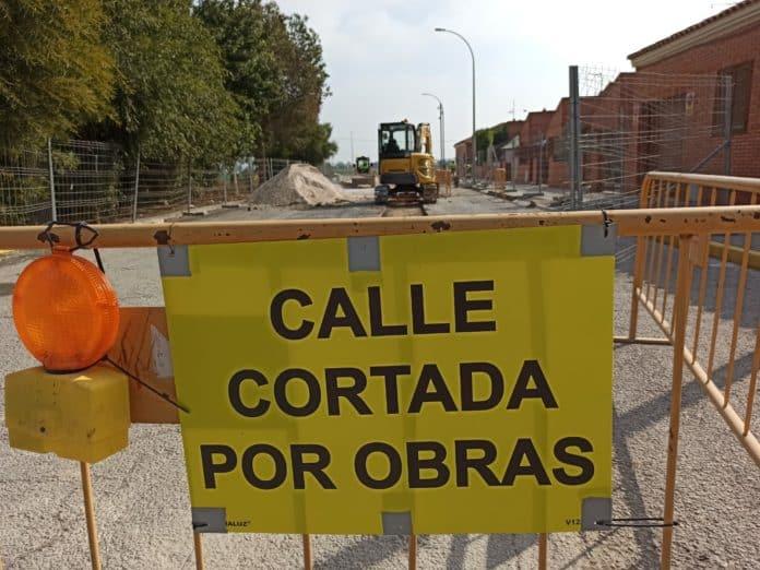 San Fulgencio - New sewer system for Avda de la Libertad