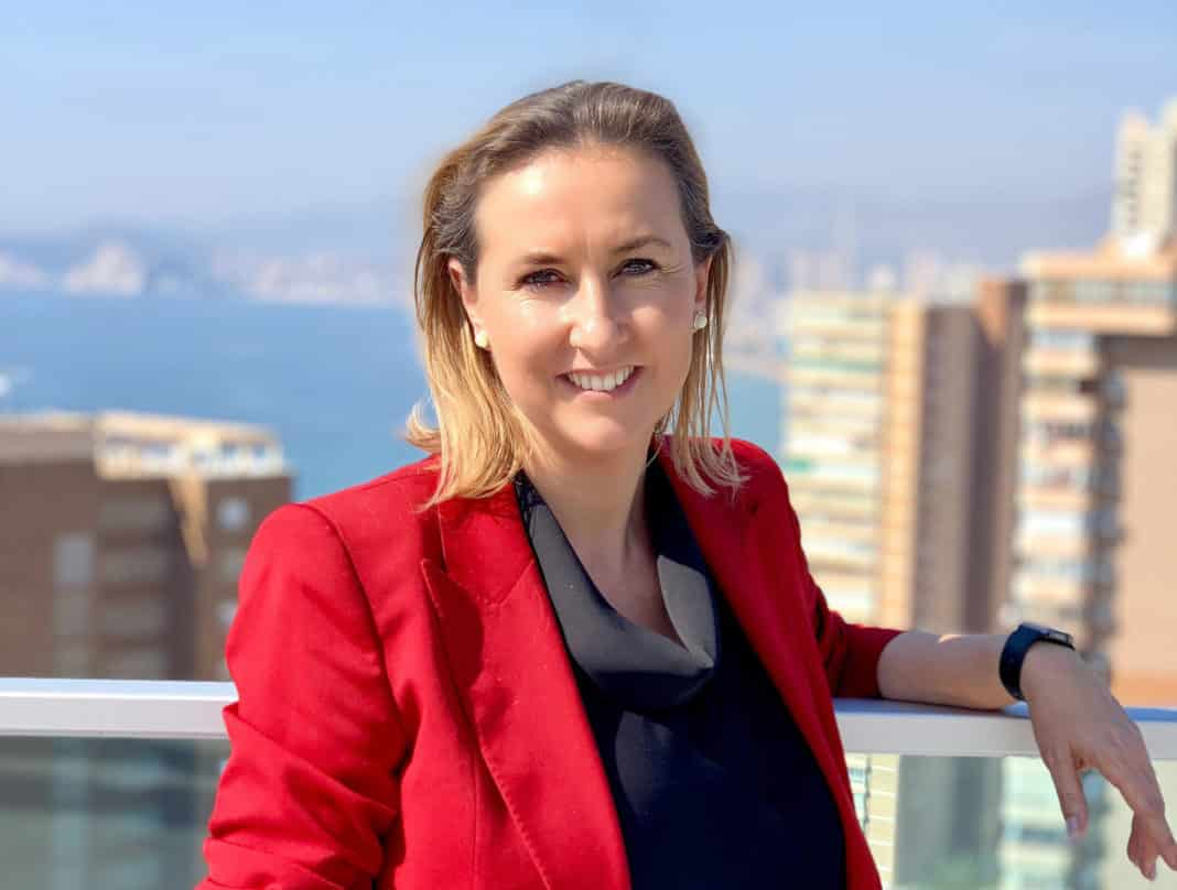 The manager of Visit Benidorm, Leire Bilbao
