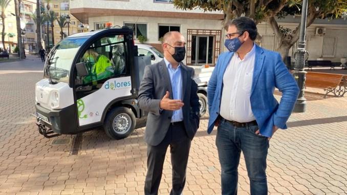 Dolores municipal vehicles go green