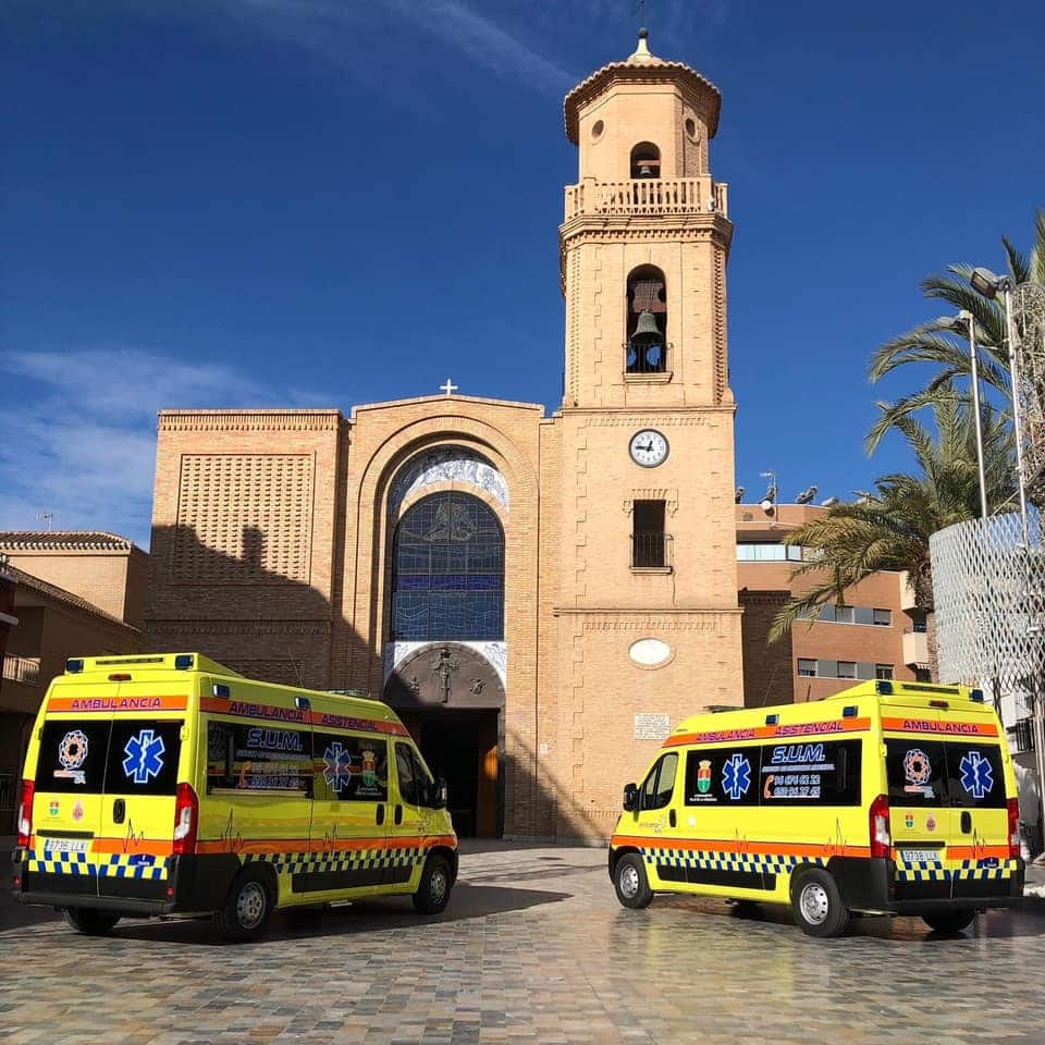 Horadada ambulances to support vaccination campaign