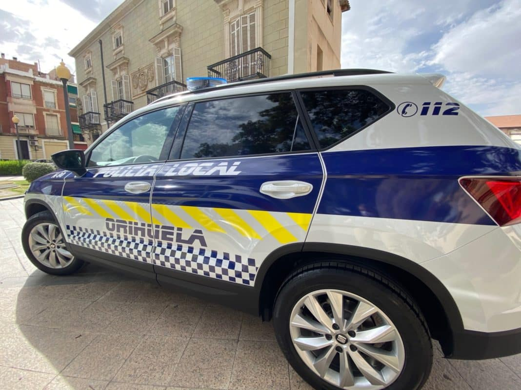 Busy weekend for Orihuela police despite municipal closure