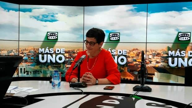 Arancha González Laya speaking to Onda Cero Radio