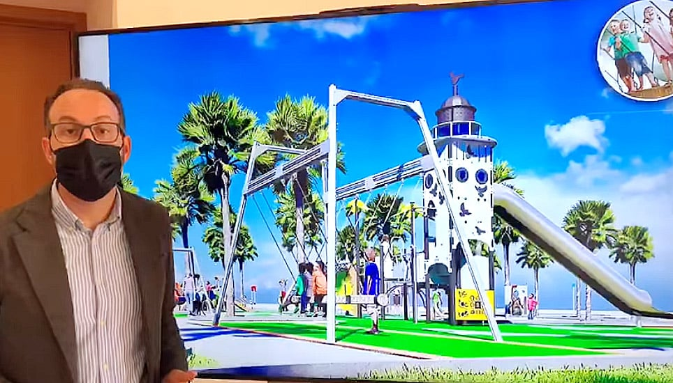 Technological leap for children's areas in Elche Municipal Park