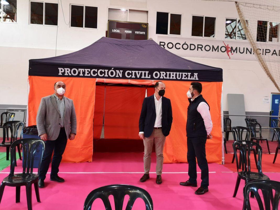 Orihuela start vaccination of Teachers on Friday