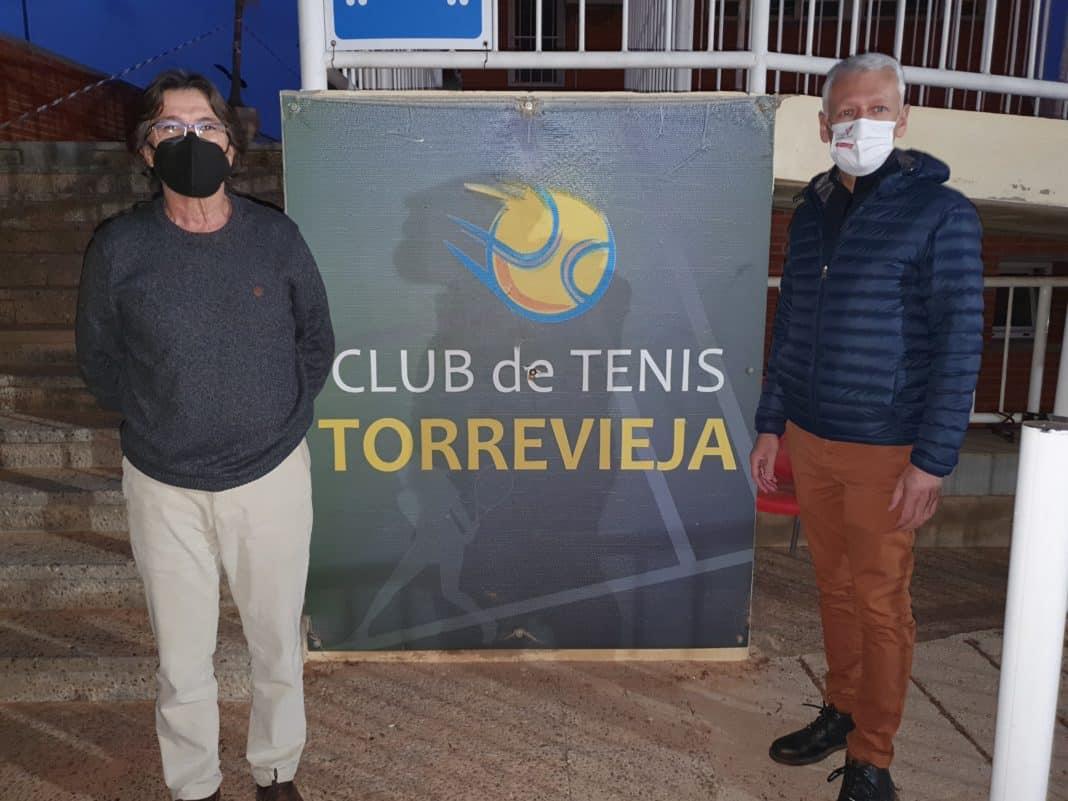 Igor Vinokurov succeeds Tafalla as Torrevieja Tennis Club President