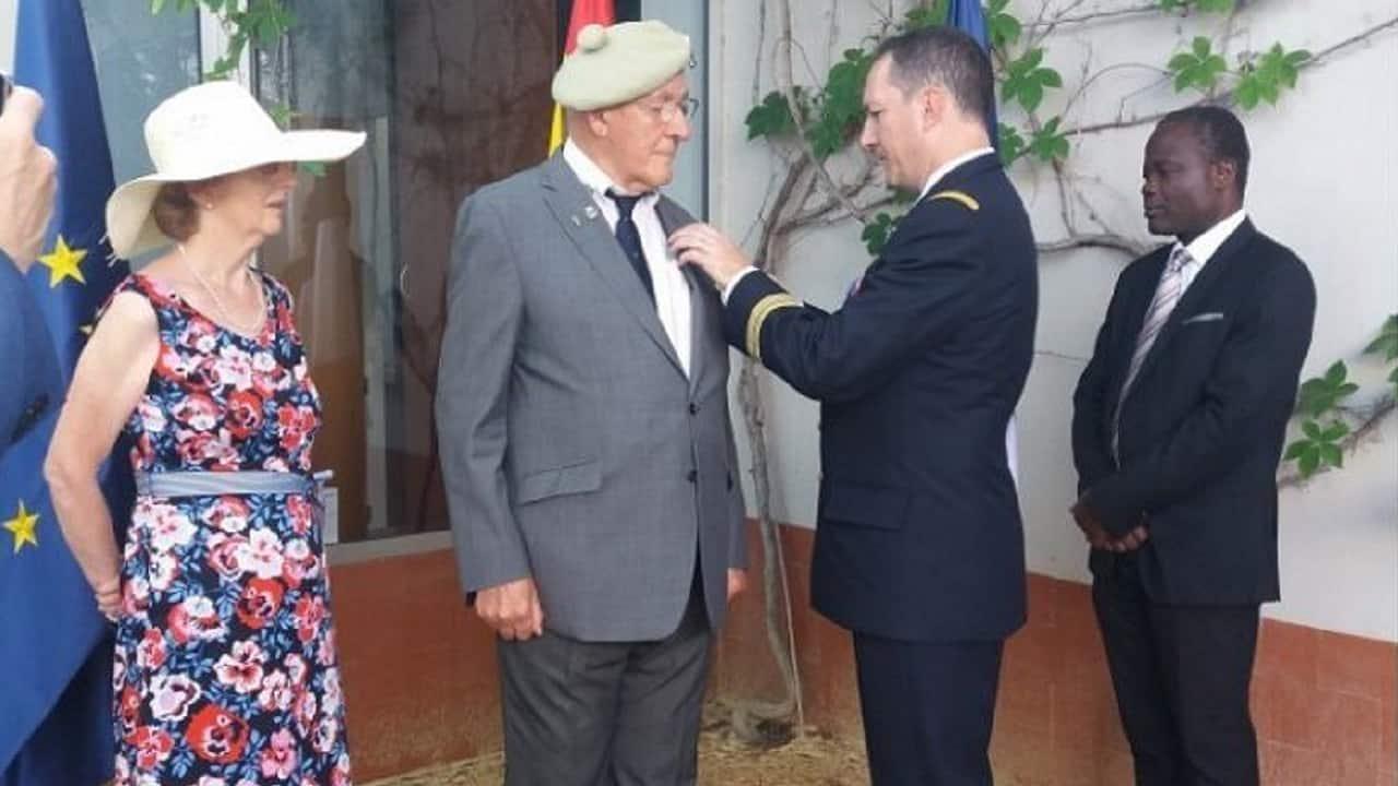 Joe receives the Legion D´Honneur