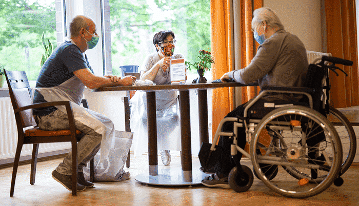 Light at the end of the tunnel for nursing homes