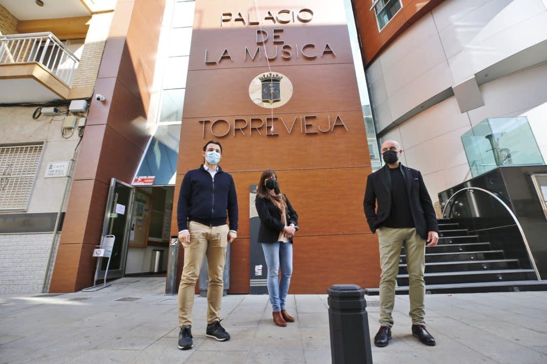 New look to the Palacio de la Musica