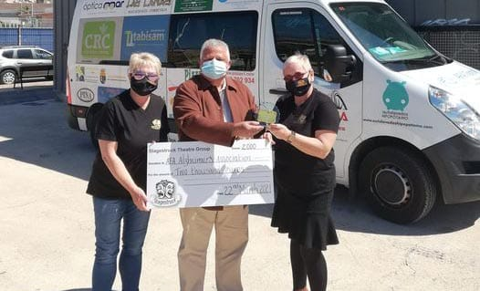 AFA Donation from Stagestruck Theatre Group