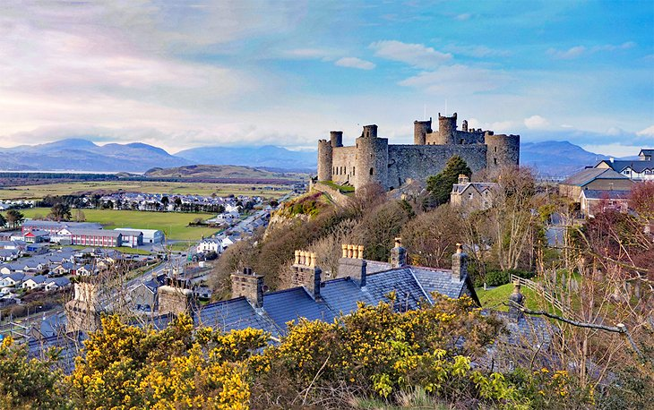Harlech Castle is one of those places that is truly able to send you back in time.