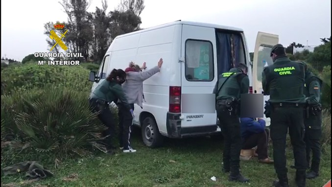 Six arrested for ATM robbery on Orihuela Costa