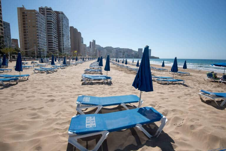 Benidorm plans to suspend the beach service for another month