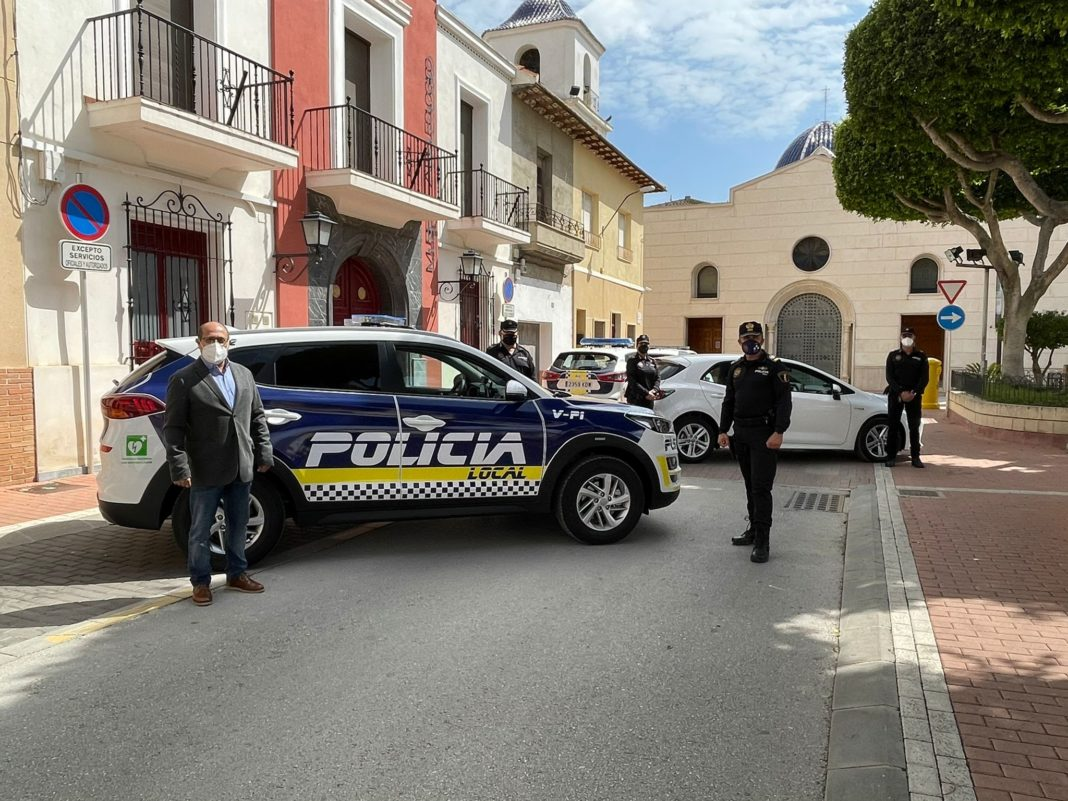Two new cars for San Fulgencio Local Police