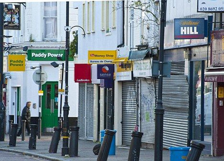 The rise and fall of the high street betting shop