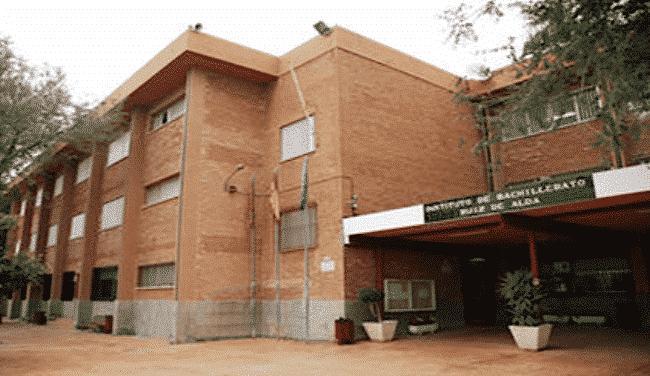 The Civil Guard carried out a search the IES Ruiz de Alda de San Javier on Thursday morning