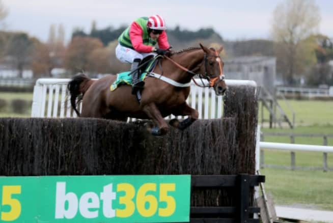 Definitly Red: Brian Ellison couldn't be happier ahead of Grand National.