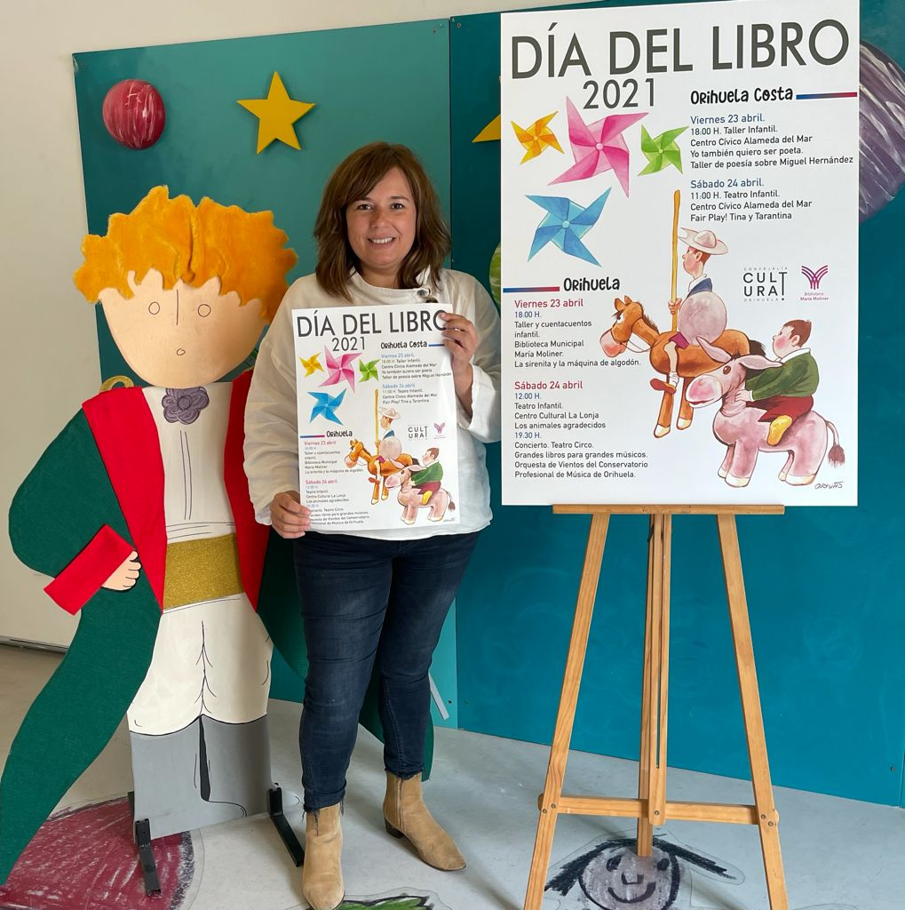 Details of the events were announced by Mar Ezcurra, the Orihuela Councilor for Culture.