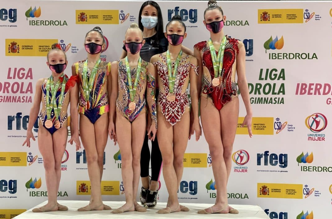 Bronze for Torrevieja gymnasts in National Iberdrola League