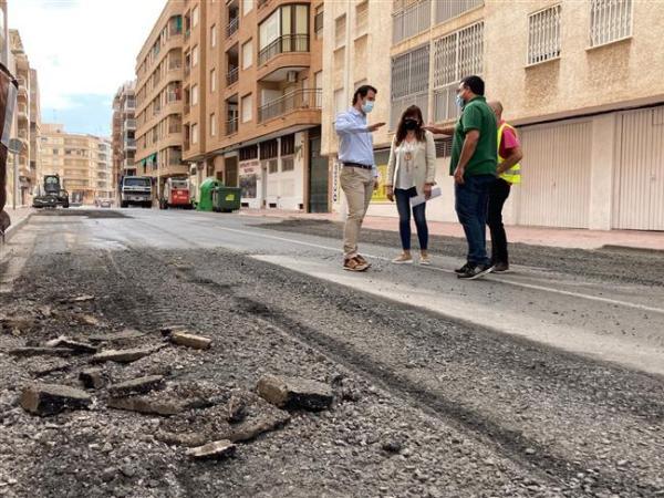 Torrevieja resurfacing works