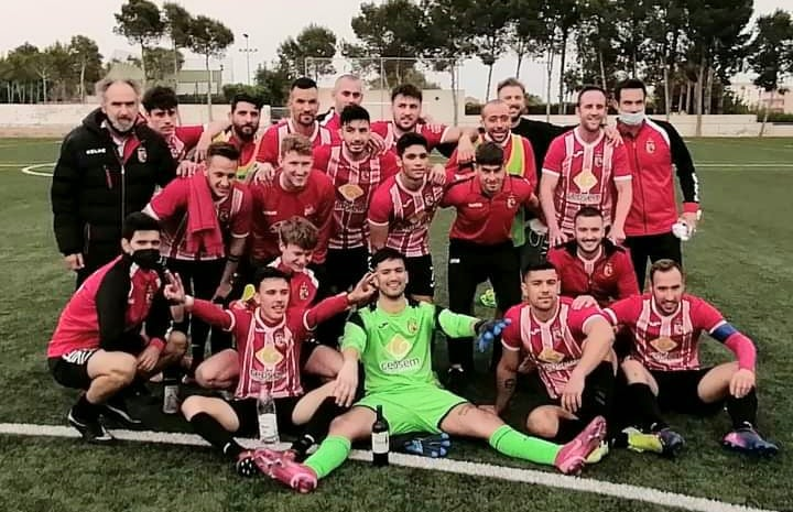 CD Montesinos 2-2 draw against Atletico de Catral CF in promotion play-offs. Photo: FMSC.