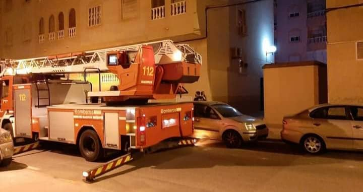 Residents evacuated from Torreviea apartment block