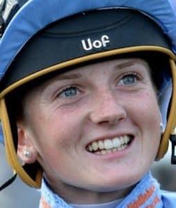 Hollie Doyle rides Spanish Star (6.45) Salisbury.
