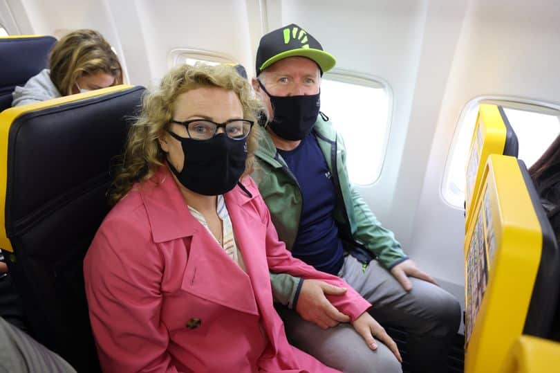 Carole Hutchinson and Christopher Couper were on an early Monday morning Ryanair flight to Alicante on an urgent mission