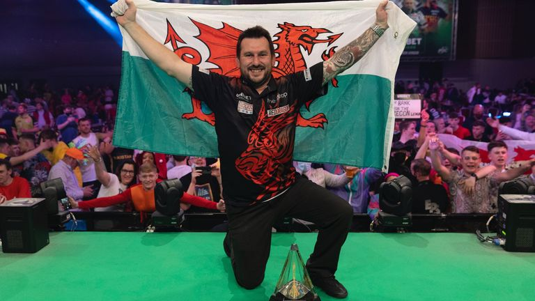 Clayton becomes the first Welshman to lift the Premier League title