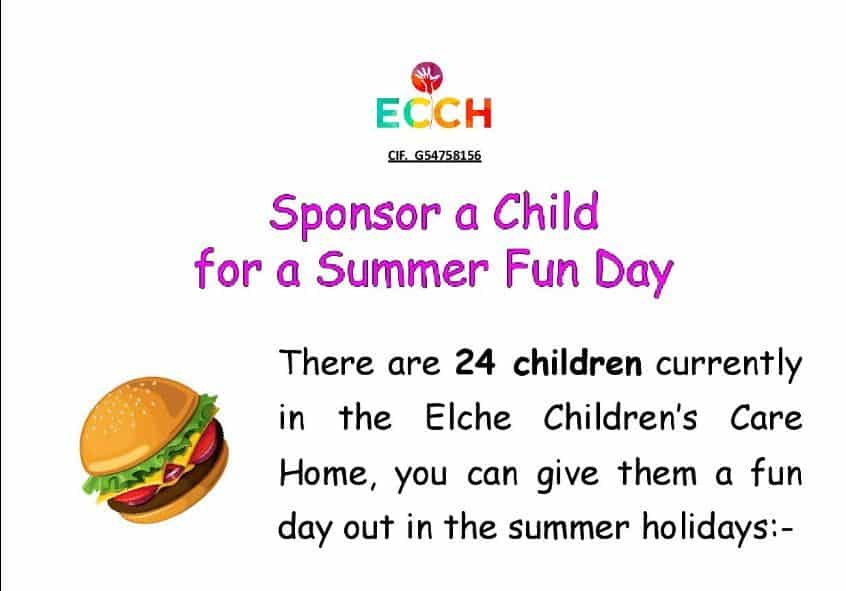 Sponsor a child during the summer