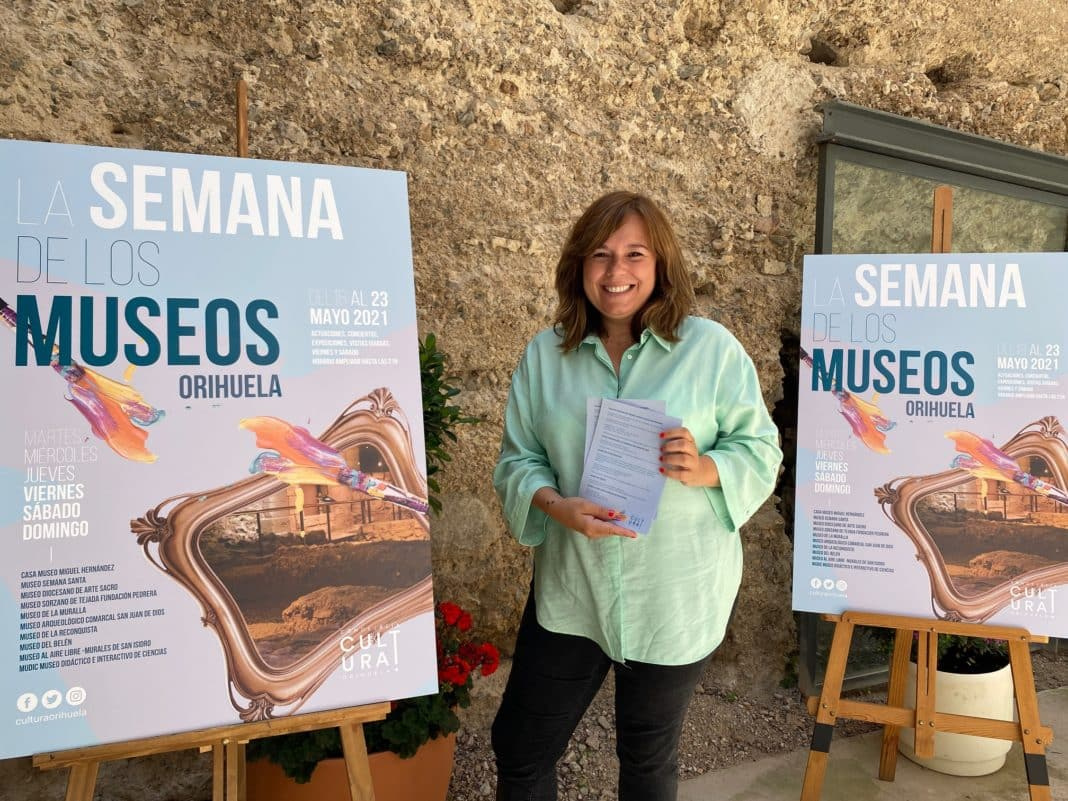 Safe activities during Orihuela's Museum Week