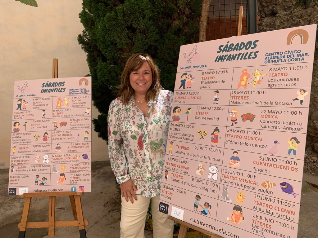 Mar Ezcurra, Councillor for Culture and Youth in Orihuela council,